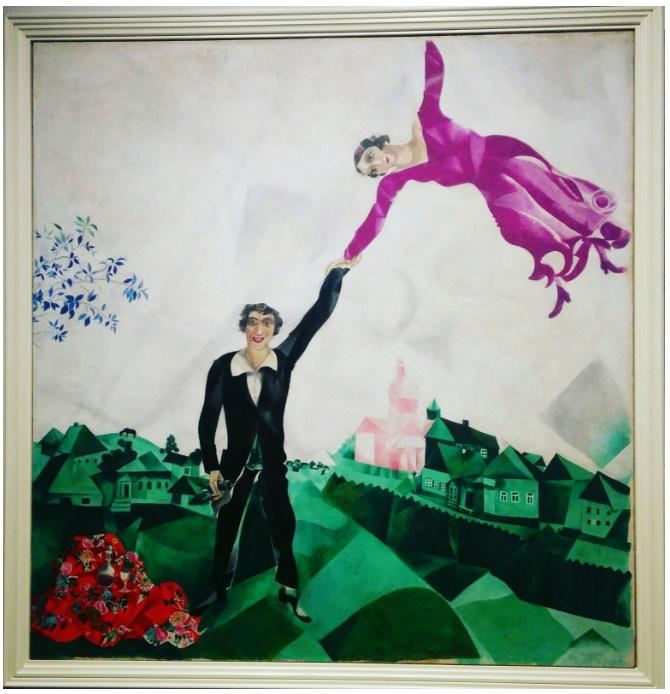 El Paseo - Marc Chagall