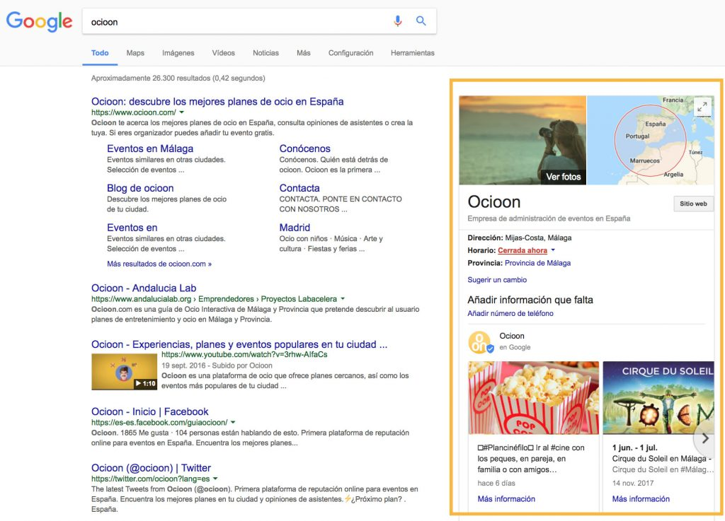how to add events to google my business